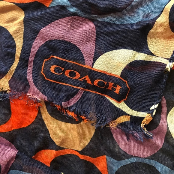 Coach Accessories - Coach Monogram stole/scarf